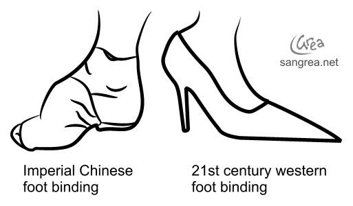 Лотосовые ножки – гордость китайских красавиц